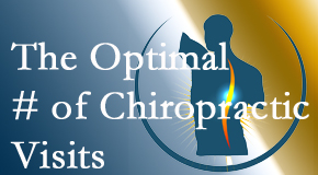 It's up to you and your pain as to how often you see the Largo chiropractor.
