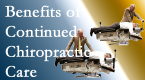 Hollstrom & Associates Inc presents continued chiropractic care (aka maintenance care) as it is research-documented as effective.