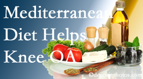 Hollstrom & Associates Inc shares recent research about how good a Mediterranean Diet is for knee osteoarthritis as well as quality of life improvement.