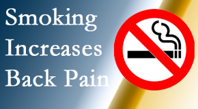 Hollstrom & Associates Inc explains that smoking heightens the pain experience especially spine pain and headache.