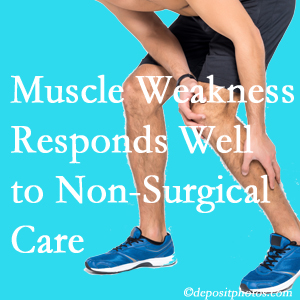 Largo chiropractic non-surgical care manytimes improves muscle weakness in back and leg pain patients.
