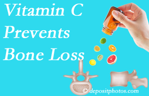 Hollstrom & Associates Inc may recommend vitamin C to patients at risk of bone loss as it helps prevent bone loss.