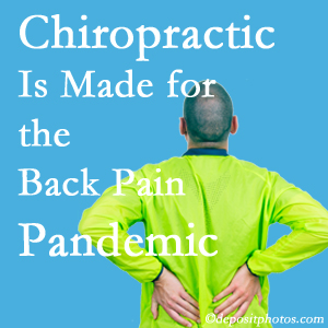 Largo chiropractic care at Hollstrom & Associates Inc is prepared for the pandemic of low back pain.