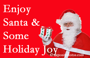 Largo holiday joy and even fun with Santa are studied as to their potential for preventing divorce and increasing happiness.