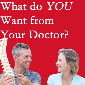 Largo chiropractic at Hollstrom & Associates Inc includes examination, diagnosis, treatment, and listening!