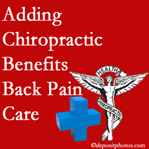 Added Largo chiropractic to back pain care plans helps back pain sufferers.