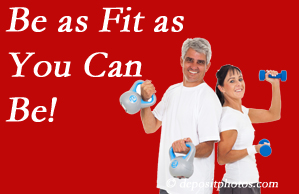 Hollstrom & Associates Inc urges Largo chiropractic patients to be as fit as they can for their back and body's sake!
