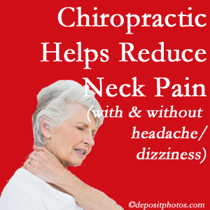 Largo chiropractic treatment of neck pain even with headache and dizziness relieves pain at a reduced cost and increased effectiveness.