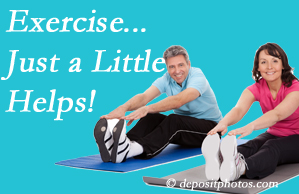 Hollstrom & Associates Inc encourages exercise for improved physical health as well as reduced cervical and lumbar pain.