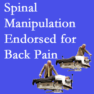 Largo chiropractic care includes spinal manipulation, an effective,  non-invasive, non-drug approach to low back pain relief.