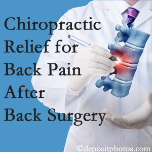 Hollstrom & Associates Inc offers back pain relief to patients who have already undergone back surgery and still have pain.
