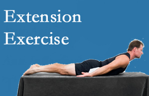 Hollstrom & Associates Inc recommends extensor strengthening exercises when back pain patients are ready for them.