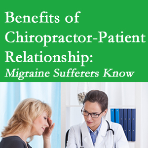 Largo chiropractor-patient benefits are numerous and especially apparent to episodic migraine sufferers.