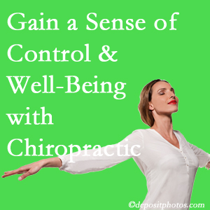 Using Largo chiropractic care as one complementary health alternative boosted patients sense of well-being and control of their health.