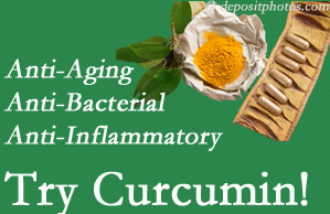 Pain-relieving curcumin may be a good addition to the Largo chiropractic treatment plan.