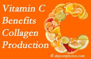 Largo chiropractic shares tips on nutrition like vitamin C for boosting collagen production that decreases in musculoskeletal conditions.